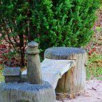Holzschnitzerei des Leuturms Darßer Ort