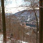 Blick von der Himmelsleiter Richtung Heidelberg