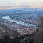 Blick über Heidelberg vom Königstuhl