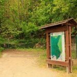 Eingang zum Naturkundlichen Lehrpfad Bad Dürkheim