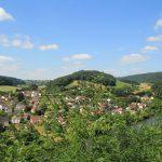 Ausblick über das Neckartal