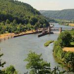 Ausblick über den Neckar