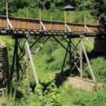 Holzbrücke zur Schauenburg