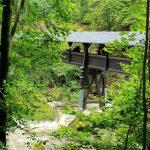 Ireller Wasserfälle Holzbrücke