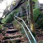 Treppe zum Wiedenfelsen