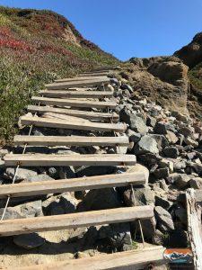 Leiter Treppe Strand