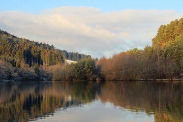 Stausee Odenwald Nibelungensteig