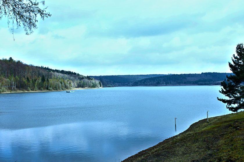 Wasser Stausee Landschaft