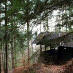 Hütte auf Neckarsteig